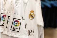 Real Madrid t-shirt Stock Images