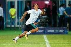 REAL MADRID V MANCHESTER UNITED: UEFA SUPER CUP Stock Photos