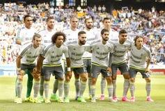 Real Madridlineup Royaltyfri Foto