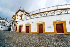 Real Maestranza Bullring. Seville, Spain Stock Photo