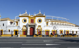Real Maestranza de Caballeria de Sevilha, em Sevilha, Espanha Imagens de Stock