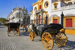 Real Maestranza de Caballeria de Sevilla Stock Images