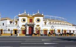 Real Maestranza de Caballeria de Sevilla, in Siviglia, la Spagna Immagini Stock