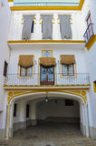 Real Maestranza de Caballeria em Sevilha, Espanha Fotografia de Stock