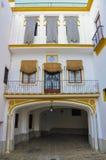Real Maestranza de Caballeria en Séville, Espagne photographie stock