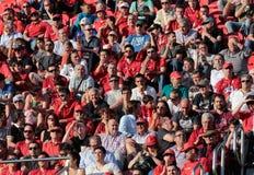 Real Mallorca soccer team supporters Stock Photos