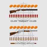 Real man - marksman Stock Image