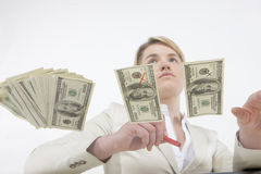 Real money Stock Photography