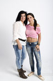 Real mother and daughter Stock Photography