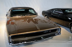 A real muscle car 3, Dodge Charger Royalty Free Stock Photos