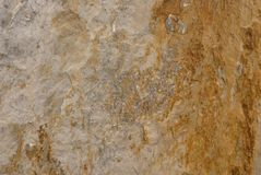 Real natural marble beige stone surface background Royalty Free Stock Photos