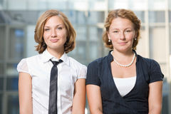 Real office workers Stock Photo