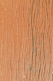 Real old wood surface with brown color paint Stock Images