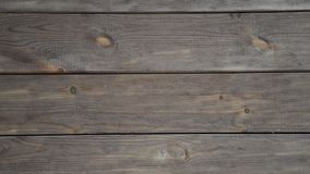 Real Old Wood Texture Vintage Background. Brown background. Camera moves from left to right. Real Old Wood Texture Vintage Background stock footage
