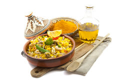 Real paella Stock Image