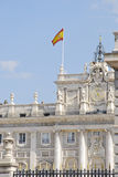 Real Palace in Madrid Stock Photos