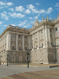 Real Palace in Madrid Royalty Free Stock Photos