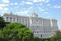 Real Palace in Madrid Royalty Free Stock Photo