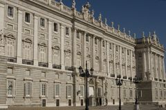 Real Palace in Madrid Royalty Free Stock Image