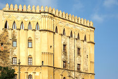 The royal palace, palermo Royalty Free Stock Images