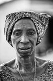Real people and reall life of Africa Royalty Free Stock Image