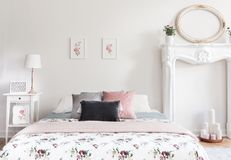 Interior Frame Mockup Bedroom Stock Images - 223 Photos