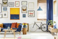 Free Real Photo Of A Retro Bike Standing Next To The Window In Bright Royalty Free Stock Photo - 118425295