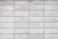Real photo of seamless block wall with pattern line use as backg Stock Image