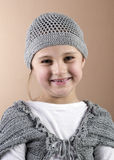 Real portrait. Close up photo of adorable six year old  gir Royalty Free Stock Photo