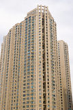 Real property in China. Lots of new modern housings are built in cities of China.Taken in Wuhan city of central China stock photography