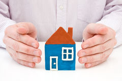 Real property or insurance concept. Royalty Free Stock Photos