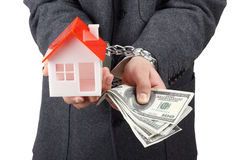 Real property or insurance concept Royalty Free Stock Image