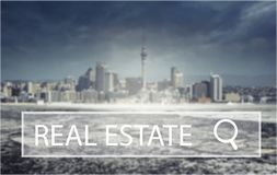 Real. Agent broker seller show loan offer Royalty Free Stock Photo