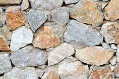 Real rock wall Stock Images