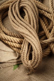 Real rope Stock Image
