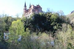 Real Sitio de Covadonga, Cangas de OnÃs, Espanha Foto de Stock Royalty Free