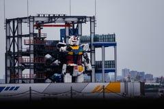 Free Real Size Gundam Under Contruction In Gundam Factory In Yokohama Royalty Free Stock Images - 198792199