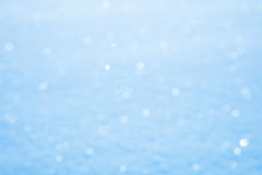 Real Snow sparkle defocused background Royalty Free Stock Images