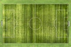 Soccer field, football field Royalty Free Stock Photography