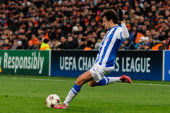 Real Sociedad FC player Royalty Free Stock Images