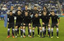 Real Sociedad team Royaltyfria Bilder