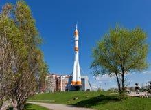 Real Soyuz type rocket Stock Image