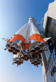 Real Soyuz type rocket  Stock Photography