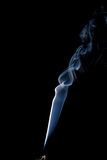 Real spiraling incense smoke Royalty Free Stock Photography