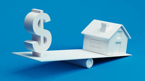 Real Estate Finance Royalty Free Stock Photo