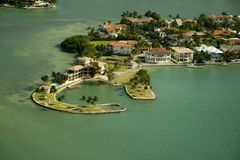 Islands in Miami Stock Photography