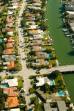 Residential area in Miami Royalty Free Stock Photography
