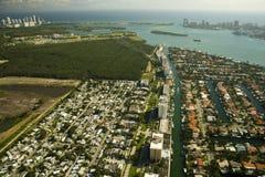 Real estate in Miami Florida Royalty Free Stock Photos