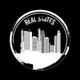 Real states design Royalty Free Stock Photos