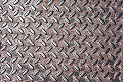 Real Steel Diamond Plate Texture Royalty Free Stock Photography